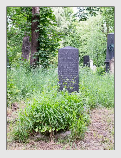 Grab der Familie Tillmetz auf dem Alten Südfriedhof München (Mai 2015)