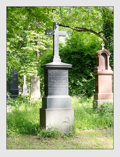 Grab der Familien Hörmann · Zengler auf dem Alten Südfriedhof München (Mai 2015)
