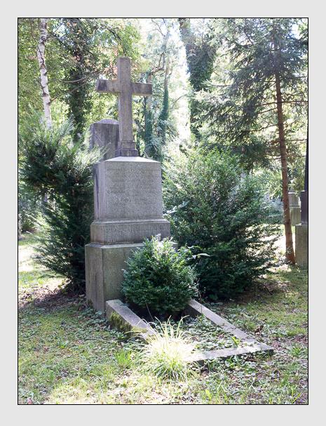 Grab der Familie Himmler auf dem Alten Südfriedhof München (September 2015)