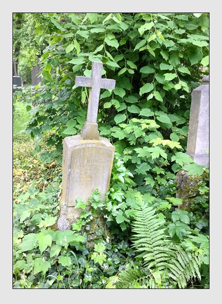 Grab der Familie Rosenhammer auf dem Alten Südfriedhof München (Mai 2016)