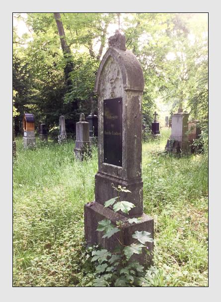 Grab der Familie Lindner auf dem Alten Südfriedhof München (Mai 2016)