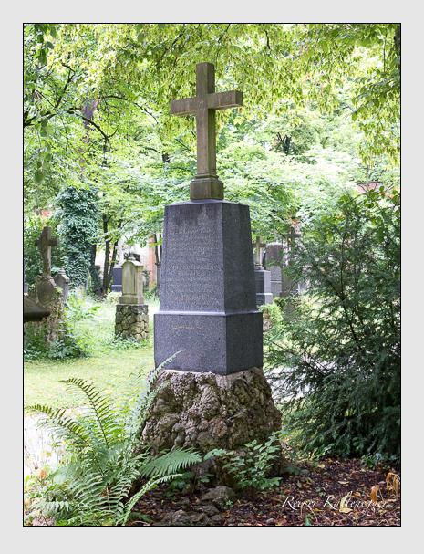 Grab der Familie Eder auf dem Alten Südfriedhof München (Juli 2016)