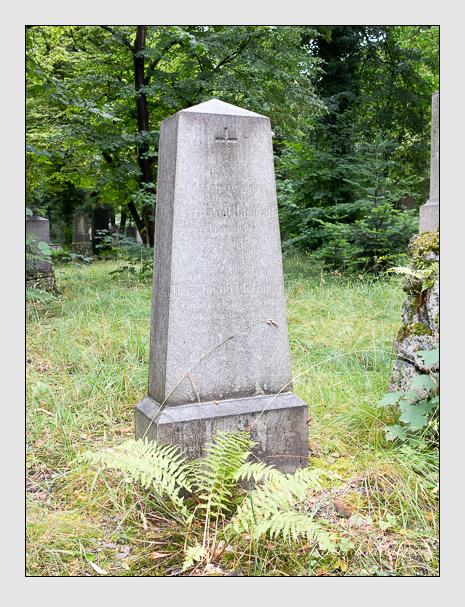 Grab der Familien Heimrath · Fletzinger auf dem Alten Südfriedhof München (Juli 2016)