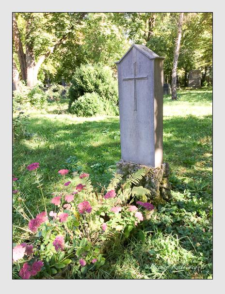 Grab der Familie Mohn auf dem Alten Südfriedhof München (Oktober 2016)
