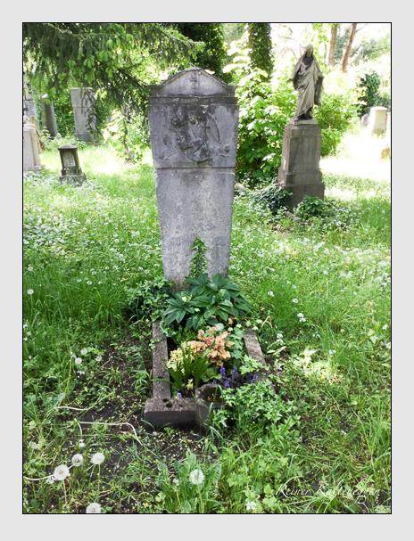Grab der Familie Meyer auf dem Alten Südfriedhof München (Oktober 2016)