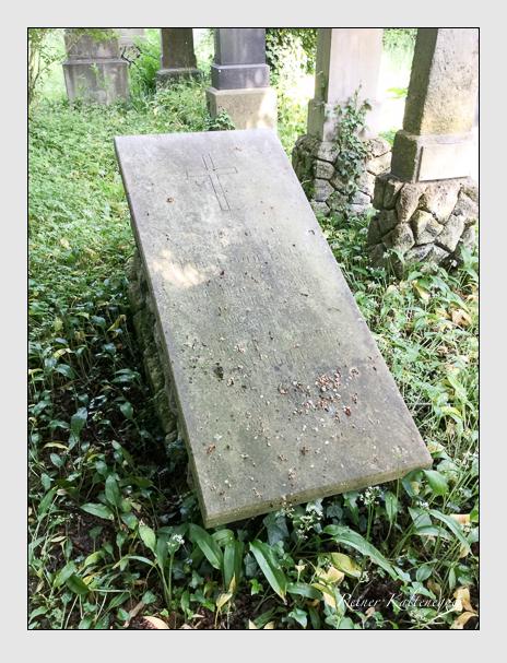 Grab der Familie Fickel auf dem Alten Südfriedhof München (Oktober 2016)