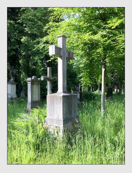Grab der Familie Mantey auf dem Alten Südfriedhof München (Oktober 2016)