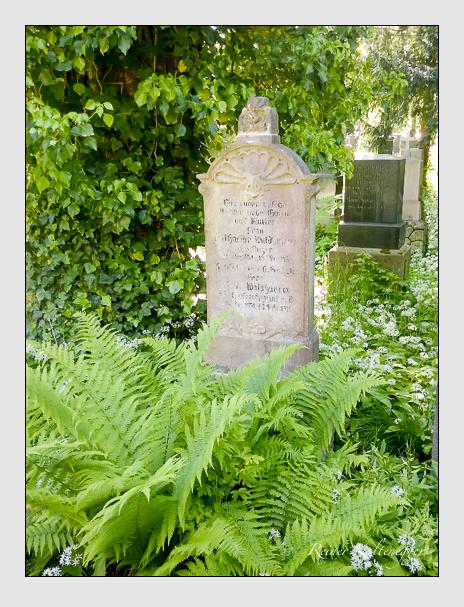 Grab der Familie Waldhauser auf dem Alten Südfriedhof München (Oktober 2016)