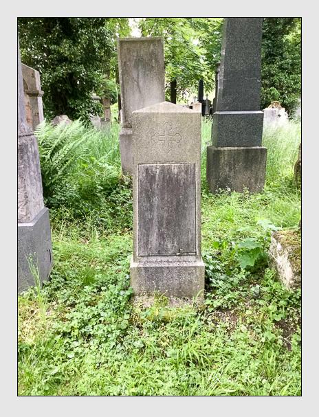Grab der Familie Wirnhier auf dem Alten Südfriedhof München (Oktober 2016)