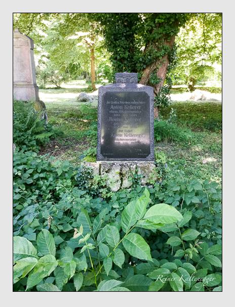 Grab der Familie Kellerer auf dem Alten Südfriedhof München (Oktober 2016)