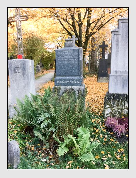 Grab der Familien Formberger · Rudolf auf dem Alten Südfriedhof München (Oktober 2016)