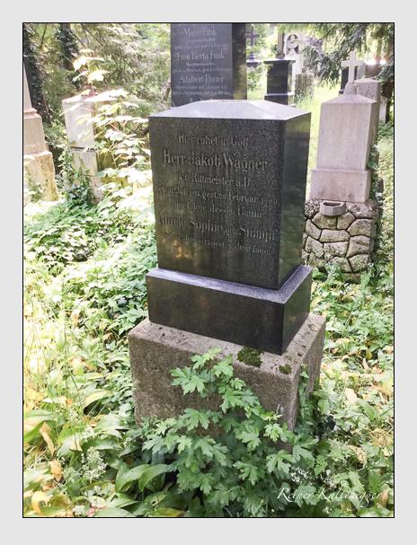 Grab der Familie Wagner auf dem Alten Südfriedhof München (Oktober 2016)
