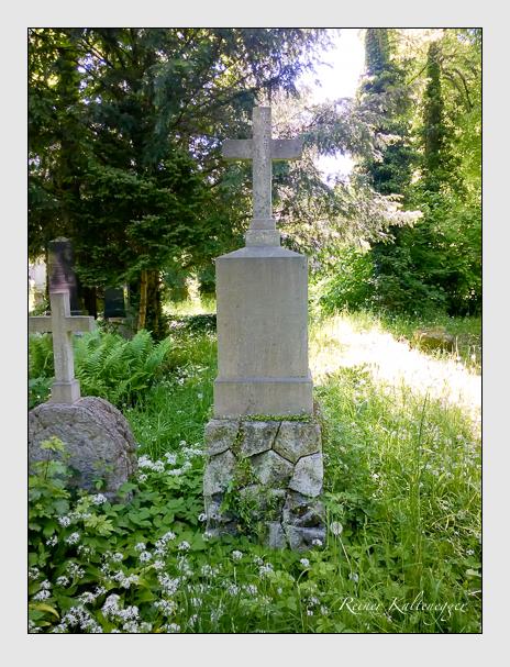 Grab der Familie Schmidt auf dem Alten Südfriedhof München (Oktober 2016)