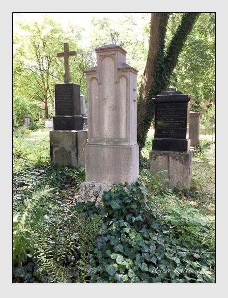 Grab der Familie Maier auf dem Alten Südfriedhof München (Januar 2018)