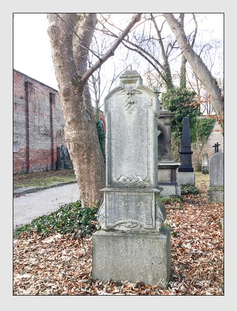 Grab der Familie Hülder auf dem Alten Südfriedhof München (Januar 2018)