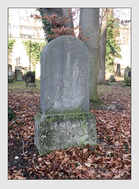 Grab der Familie Taillez auf dem Alten Südfriedhof München (Januar 2018)