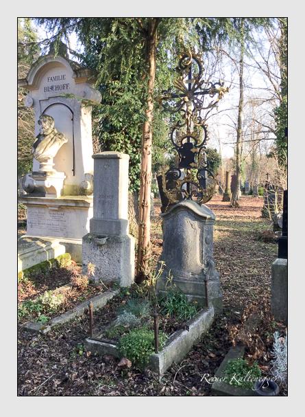 Grab der Familien Böhler · Laibl auf dem Alten Südfriedhof München (Januar 2018)