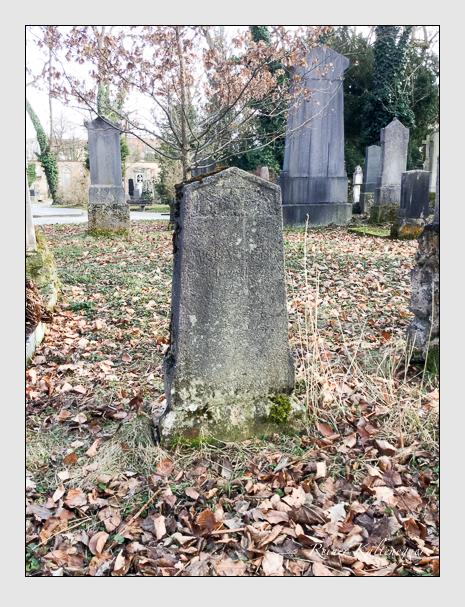 Grab der Familie Bauer auf dem Alten Südfriedhof München (März 2018)