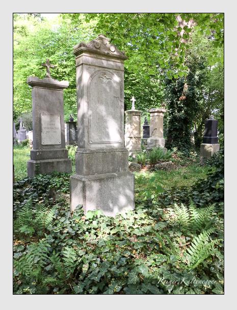 Grab der Familie Reschreiter auf dem Alten Südfriedhof München (April 2018)