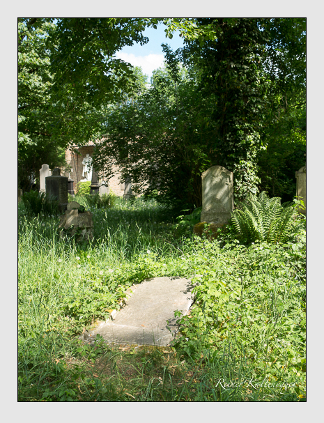 Grab der Familie Ketterl auf dem Alten Südfriedhof München (Mai 2018)