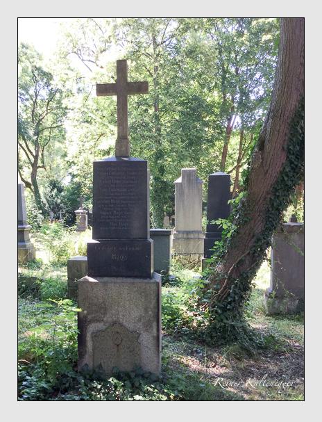 Grab der Familien Fuhrmann · Hage · Zottmayr auf dem Alten Südfriedhof München (Mai 2018)