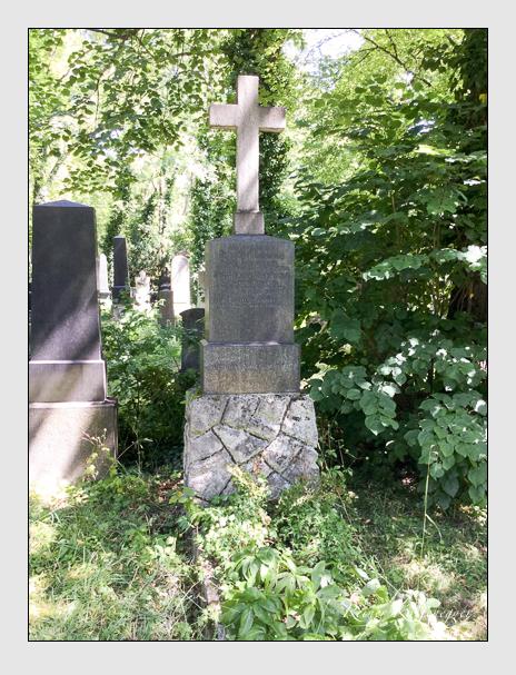 Grab der Familien Baumann · Sandberger auf dem Alten Südfriedhof München (Mai 2018)