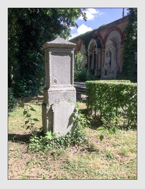 Grab der Familie Meister auf dem Alten Südfriedhof München (Juli 2019)