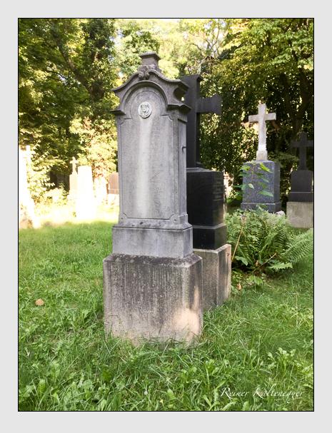 Grab der Familie Weber auf dem Alten Südfriedhof München (August 2019)
