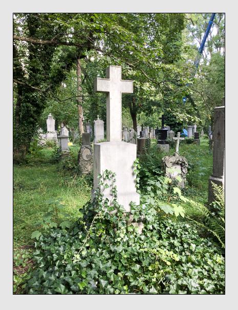Grab der Familie Weckbecker auf dem Alten Südfriedhof München (September 2019)