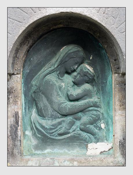 Grab der Familie Ulsamer auf dem Alten Südfriedhof München (April 2020)