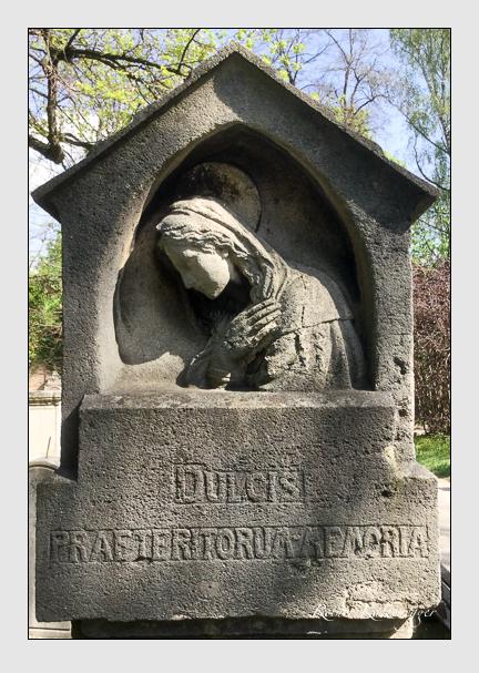 Grab der Familie Michaelis auf dem Alten Südfriedhof München (April 2020)