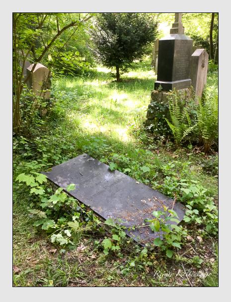 Grab der Familie Kienhöfer auf dem Alten Südfriedhof München (Mai 2020)