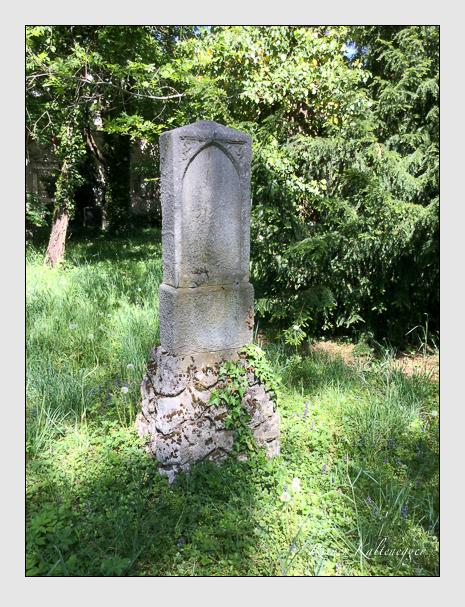 Grab der Familie Barsch auf dem Alten Südfriedhof München (Mai 2020)