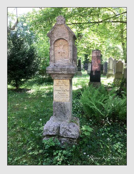 Grab der Familie Dax auf dem Alten Südfriedhof München (May 2020)