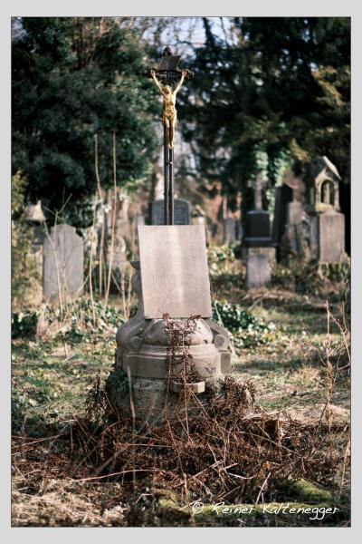 Grab der Familie Will auf dem Alten Südfriedhof München (Februar 2021)