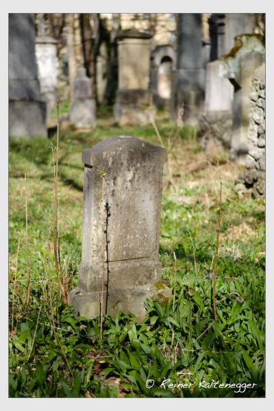 Grab der Familie Frischholz auf dem Alten Südfriedhof München (März 2021)