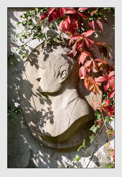 Grab der Familie Lindauer auf dem Alten Südfriedhof München (Oktober 2007)