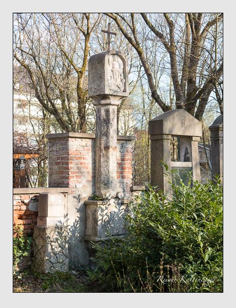 Grab der Familie Schelld auf dem Alten Südfriedhof München (März 2014)