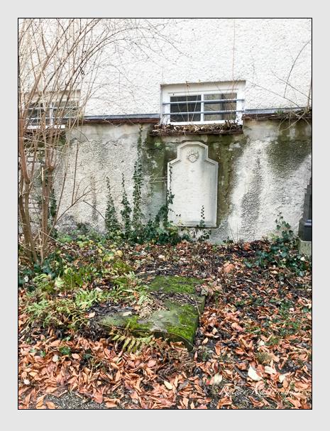 Grab der Familie Gasser auf dem Alten Südfriedhof München (März 2018)
