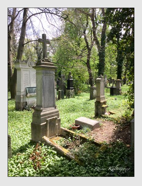 Grab der Familie Treffa auf dem Alten Südfriedhof München (April 20206)