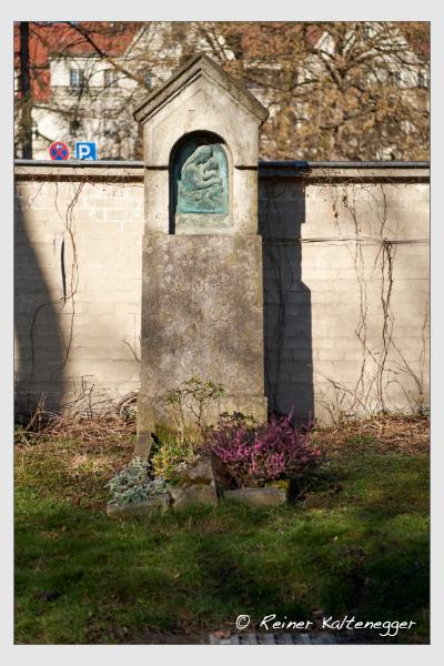 Grab der Familie Wagner auf dem Alten Südfriedhof München (Februar 2021)