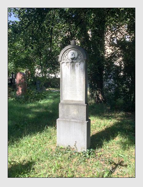 Grab der Familie Schneider auf dem Alten Südfriedhof München (August 2020)