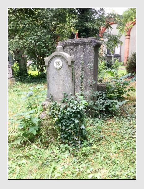 Grab der Familie Flechsel auf dem Alten Südfriedhof München (August 2020)