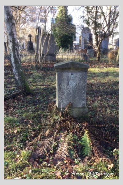 Grab der Familie Kirnberger auf dem Alten Südfriedhof München (Dezember 2020)