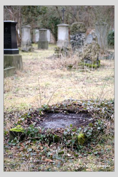 Grab der Familie Koller auf dem Alten Südfriedhof München (Februar 2021)