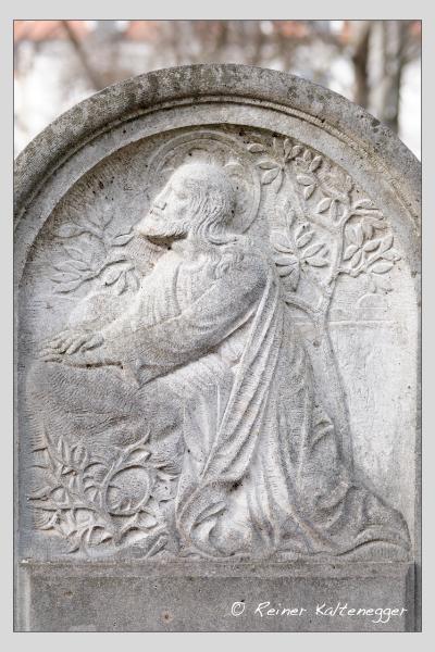 Grab der Familien Lehner · Roth auf dem Alten Südfriedhof München (Februar 2021)