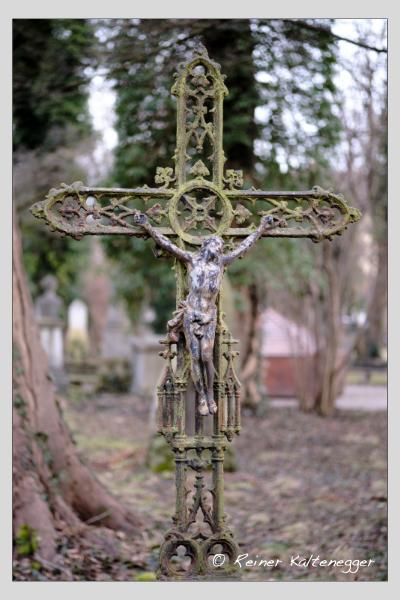 Grab der Familien Donhauser · Roth auf dem Alten Südfriedhof München (Februar 2021)