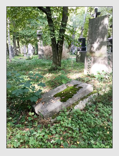 Grab der Familie Beyer auf dem Alten Südfriedhof München (September 2019)