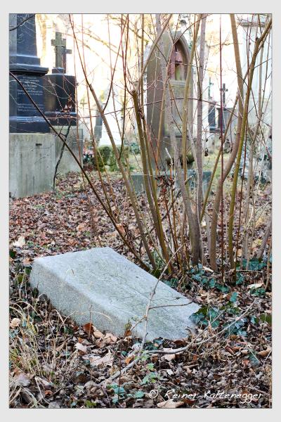 Grab der Familie Händle auf dem Alten Südfriedhof München (Dezember 2015)