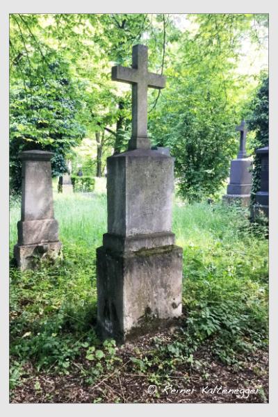 Grab der Familie Finkl auf dem Alten Südfriedhof München (Oktober 2017)